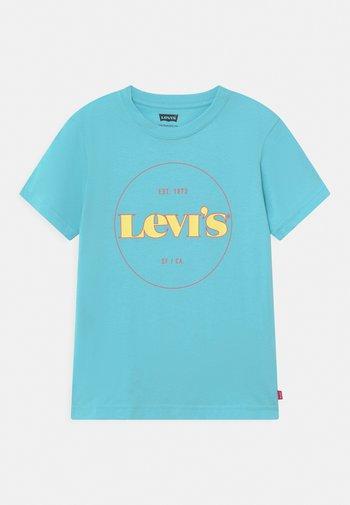 GRAPHIC  - T-shirts print - blue topaz