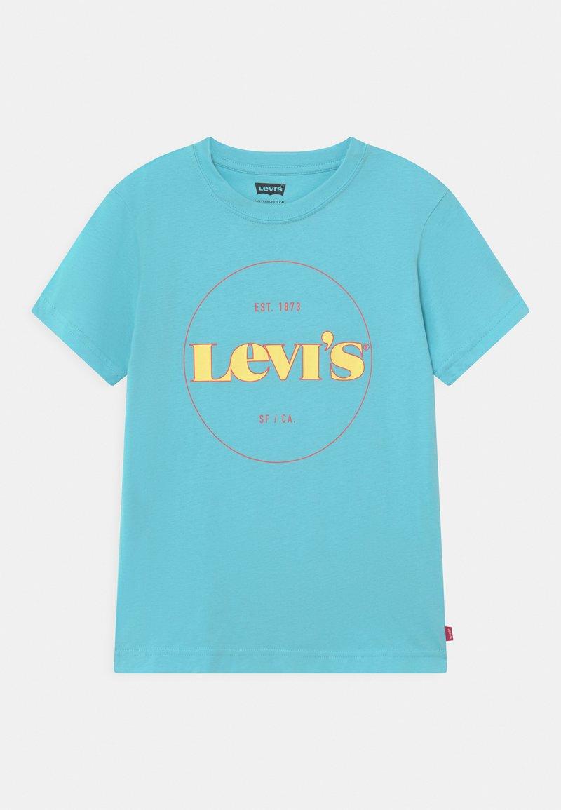 Levi's® - GRAPHIC  - T-shirts med print - blue topaz