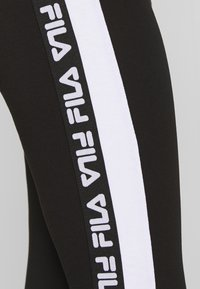 Fila Tall - TASYA - Leggings - Trousers - black/bright white - 3