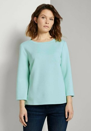 Sweatshirt - minty green