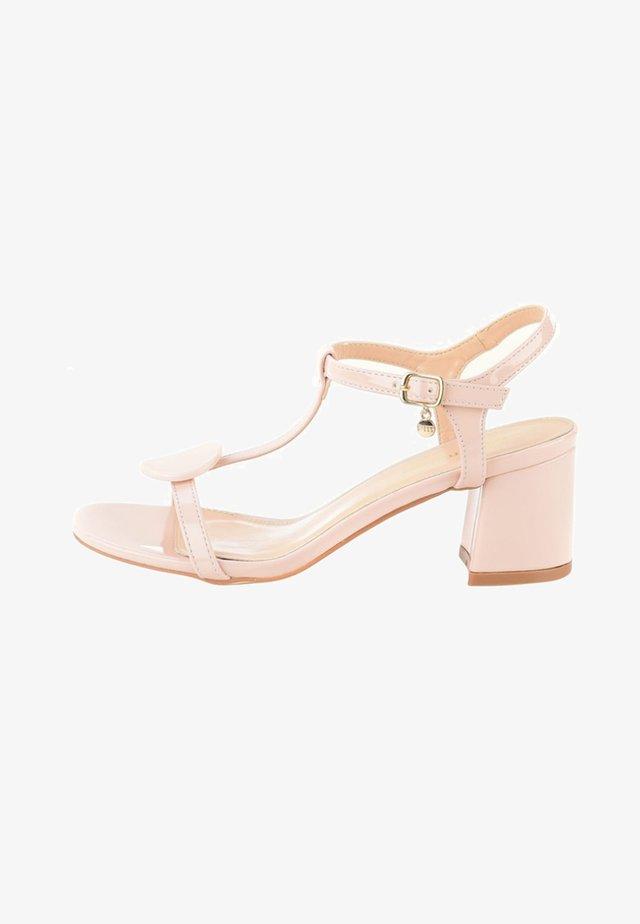 ISPICA - Sandály na vysokém podpatku - pink