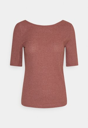 POINTELLE - T-shirts med print - coral