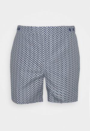 TAILORED SWIM BEAM PRINT - Swimming shorts - ink/smoke
