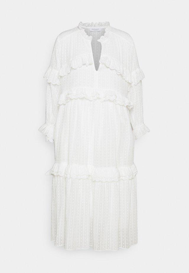 JEANNE - Korte jurk - white
