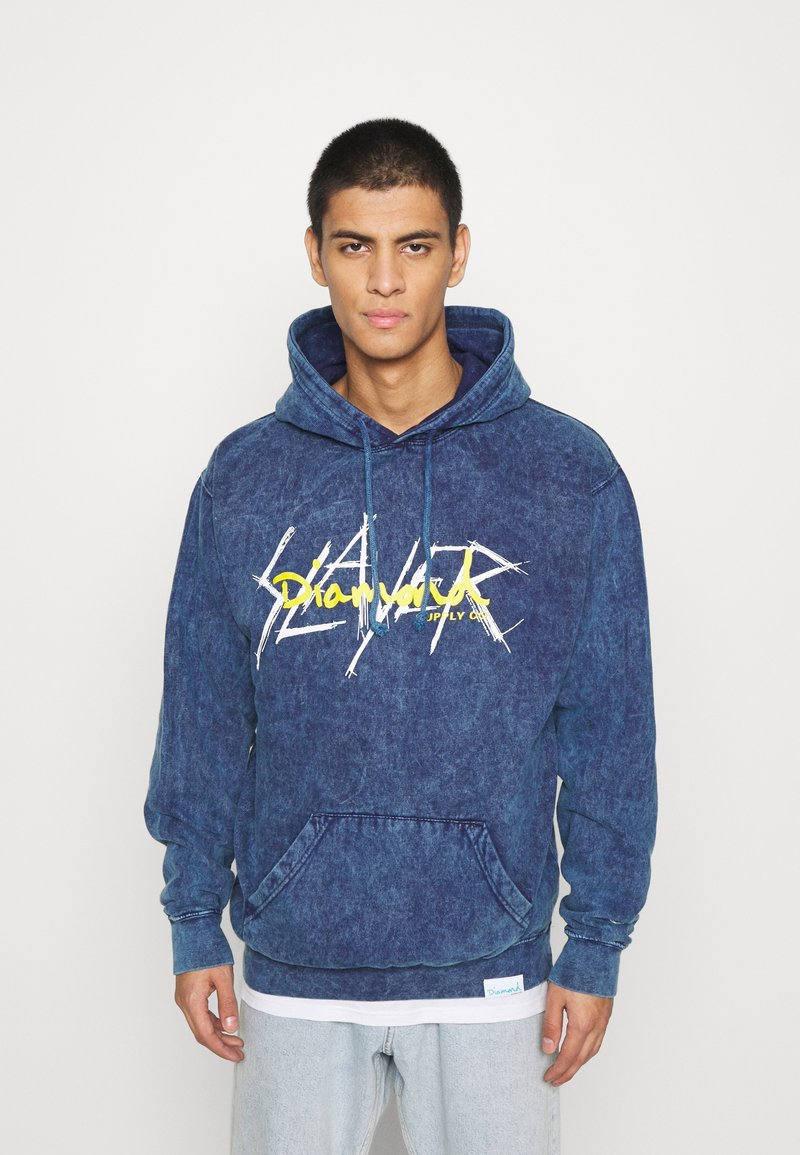 Diamond Supply Co. - SLAYER HOODIES - Collegepaita - dark blue
