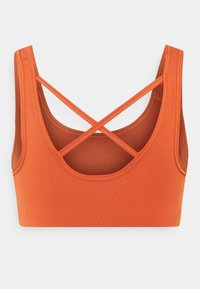 Nike Performance - BRA - Medium support sports bra - light sienna/healing orange - 6