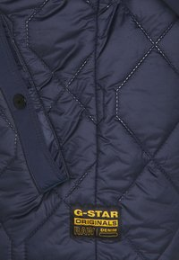 G-Star - ATTACC HEATSEAL QUILTED - Light jacket - namic heatpress padded sartho blue - 7