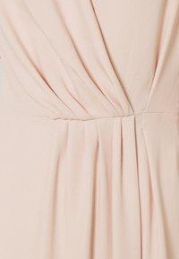 Victoria Victoria Beckham - DRAPED FLUID CADY MINI DRESS - Denní šaty - petal pink - 8