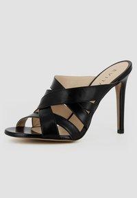 Evita - DAMEN SANDALETTE EVA - Højhælede sandaletter / Højhælede sandaler - black - 2