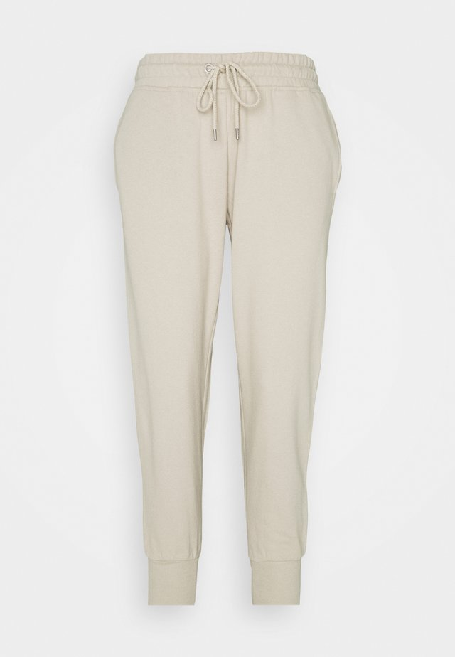 YOUR FAVOURITE TRACKPANT - Tracksuit bottoms - sand dune