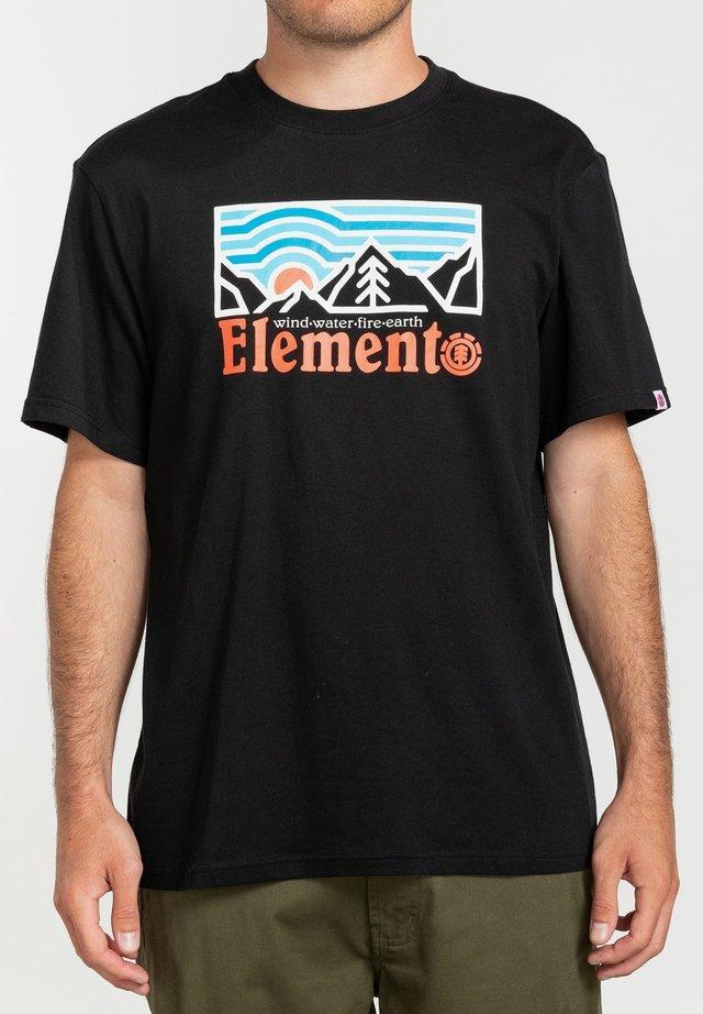 WANDER - T-shirts print - flint black