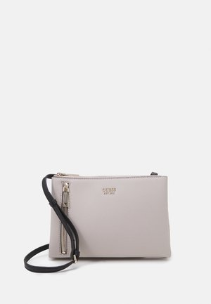 NAYA DOUBLE ZIP CROSSBODY - Schoudertas - stone multi