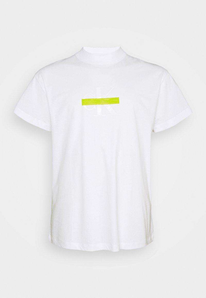Calvin Klein Jeans Plus - CENSORED TEE - Print T-shirt - bright white