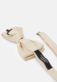Twisted Tailor - JAGGER BOWTIE - Bow tie - champagne - 1