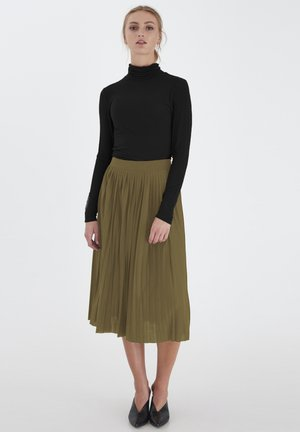 IHWIMSY - A-line skirt - beech