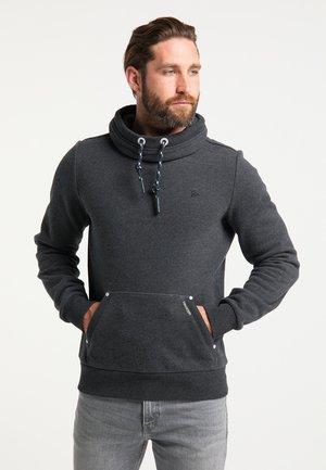 Sweatshirt - dunkelgrau melange