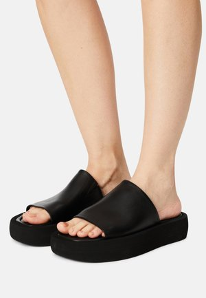 SIRI - Pantofle - black