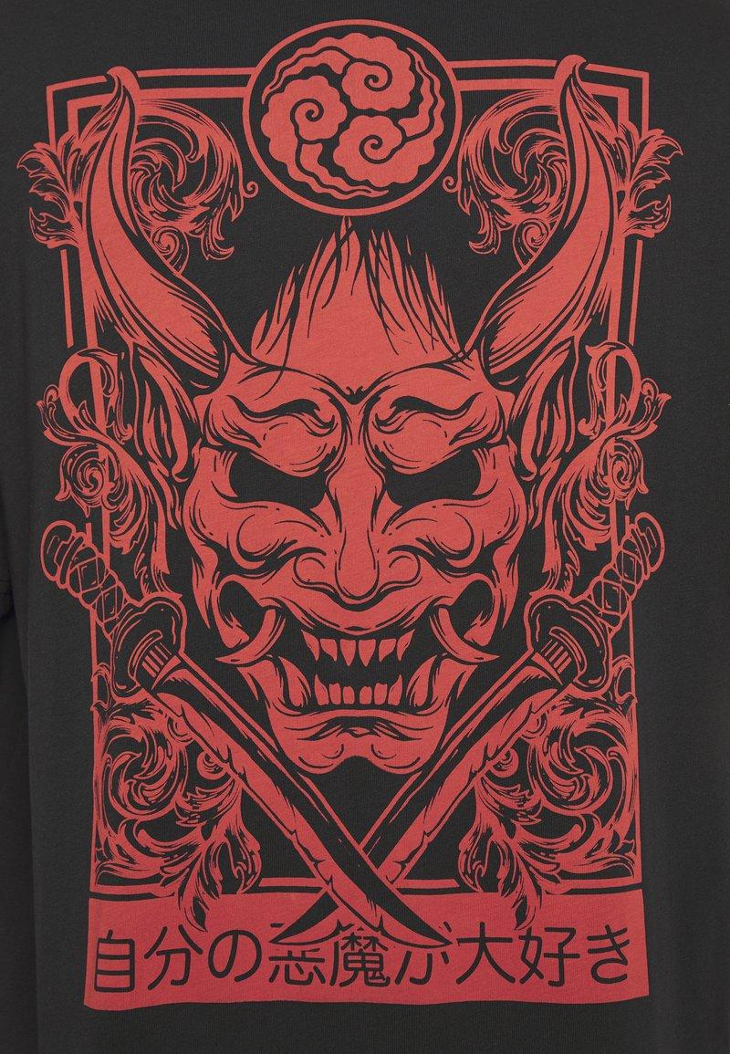 YOURTURN T-Shirt print - black/schwarz etEq2z
