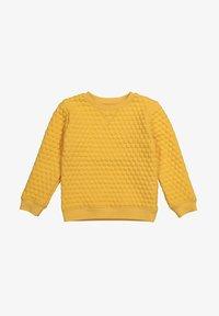 The Striped Cat - Sweatshirt - yellow - 0