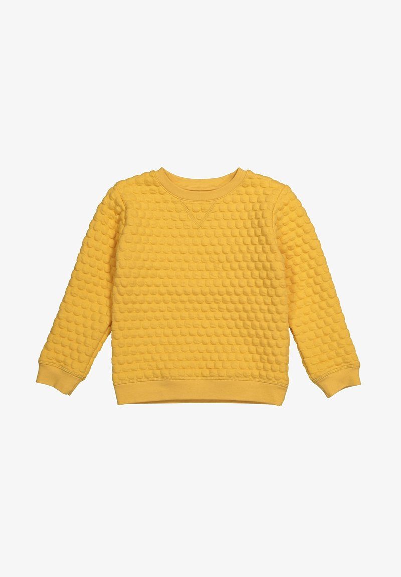 The Striped Cat - Sweatshirt - yellow