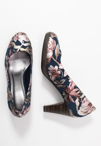 Marco Tozzi - Platform heels - navy - 3