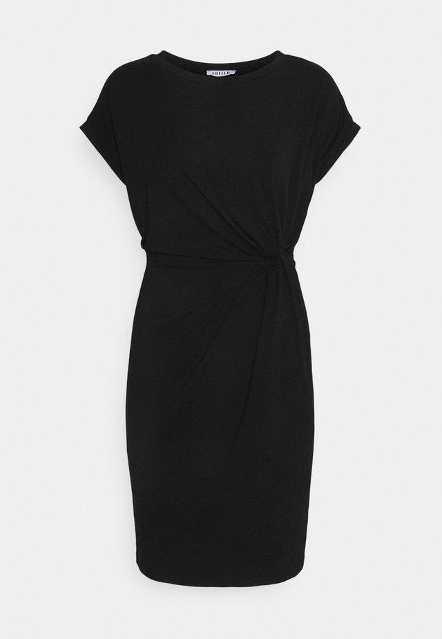 FAITH DRESS - Jersey dress - black