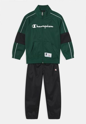 FULL ZIP SET UNISEX - Verryttelypuku - dark green