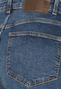 PIECES Tall - Straight leg jeans - dark blue denim - 2