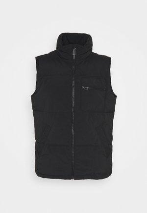 FUJI GILET - Waistcoat - black