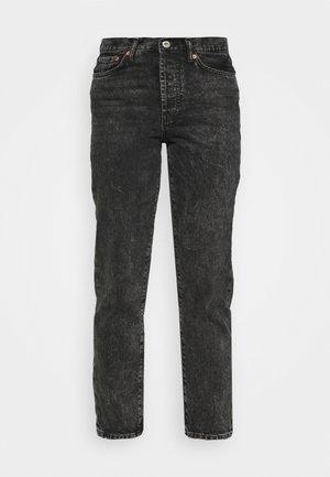 ONLFINE LIFE - Straight leg jeans - black