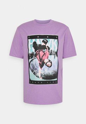 HAK UNISEX - T-shirt print - sheer lilac