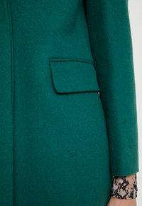 Benetton - CLASSIC TAILORED COAT - Kappa / rock - dark green - 5