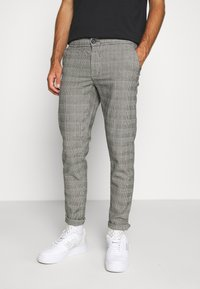 Redefined Rebel - KING PANTS - Tygbyxor - grey mustard - 0