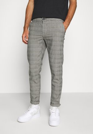 KING PANTS - Trousers - grey mustard