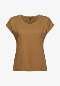 Esprit Collection - Basic T-shirt - bark - 7