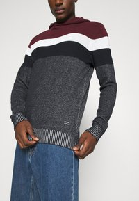 Jack & Jones - JJWESLEY  - Jersey con capucha - port royale