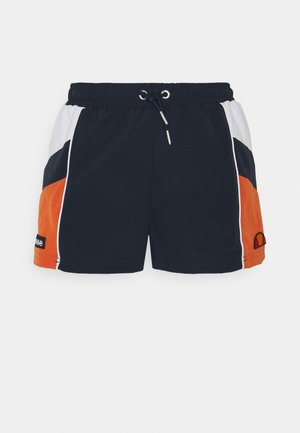 STRIPE SHORT - Short - navy