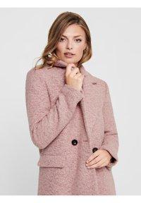 ONLY - Classic coat - burlwood - 4