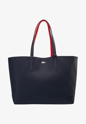 REVERSIBLE - Shopping bag - peacoat salsa