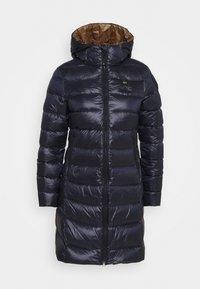 IMPERMEABILE LUNGHI IMBOTTITO - Kabát zprachového peří - dark blue