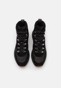 Calvin Klein - BONNET - Lace-up ankle boots - black - 4