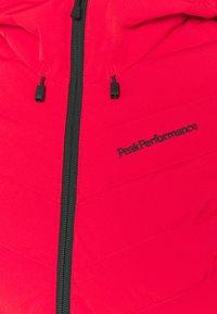 Peak Performance - FROST JACKET - Laskettelutakki - polar red - 6