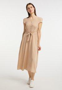 usha - Shirt dress - beige - 1