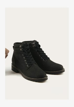 FOREVER COMFORT® CASUAL LACE-UP - Laarzen - black