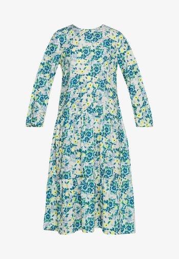 RUFFLE DRESS - Kjole - yellow