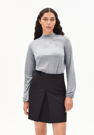 ODANAA - Blouse - mid grey melange