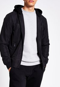 River Island - Bomber Jacket - black - 0