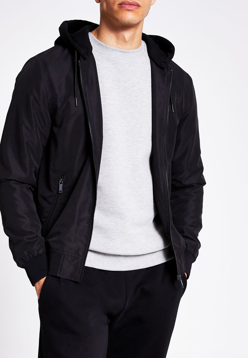 River Island - Bomber Jacket - black