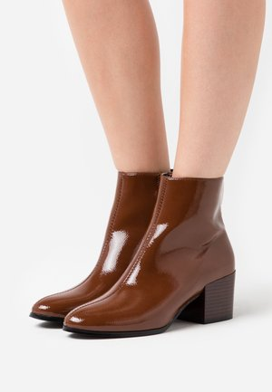 ONLBELEN BOOT  - Classic ankle boots - cognac