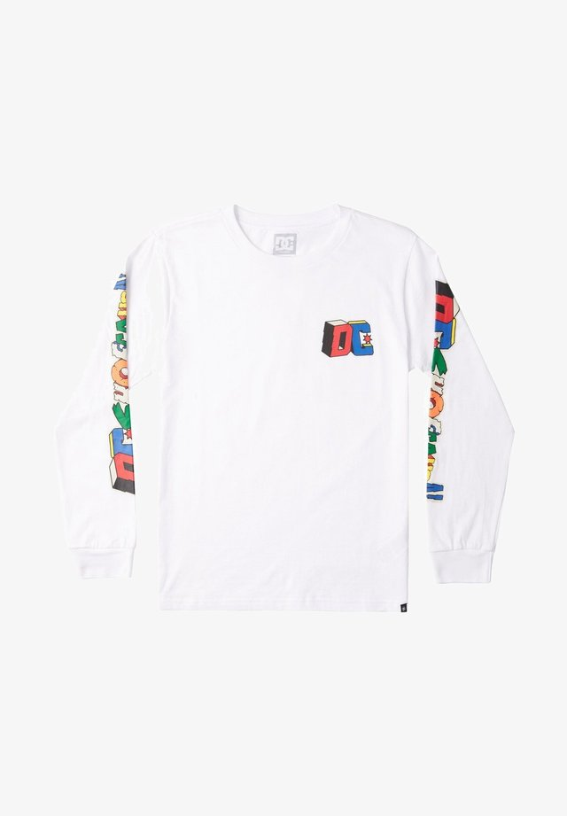 DC JUMBLE  - Long sleeved top - white